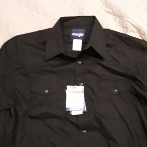 Men's Wrangler western style shirt NWT